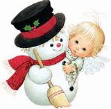 snowman with angel smaller 12 13 14
